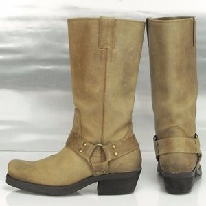 Penny ❤️ Kenny Women's Suede Moto Boots Sz 8